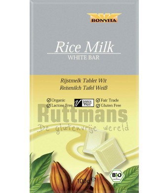 Rijstmelk Witte Chocoladereep
