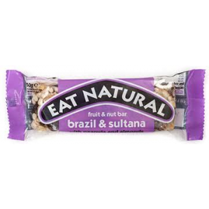 Fruit en noten reep brazil & sultana met pinda's en amandelen