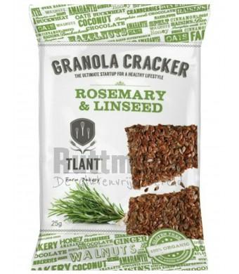 Granolacracker - Rozemarijn/Lijnzaad