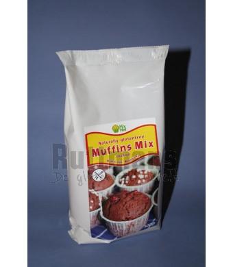 Muffinmix 302, chocolade: van nature glutenvrij