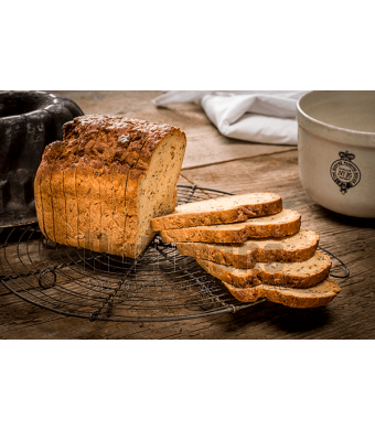 Bruin Brood, gesneden 500 g (diepvries)