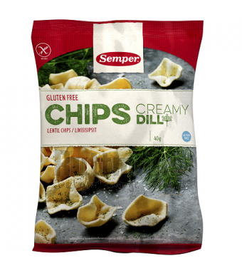 Chips creamy dille