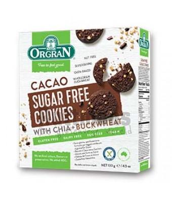 Chocoladekoekjes suikervrij