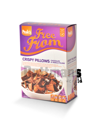 Crispy Pillows met Choco- & Vanillevulling