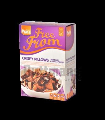 Crispy Pillows met Choco- & Vanillevulling