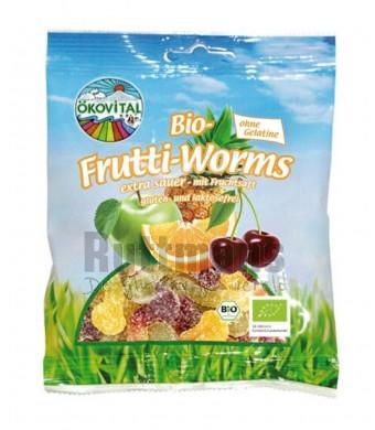 Fruitwormen zonder gelatine