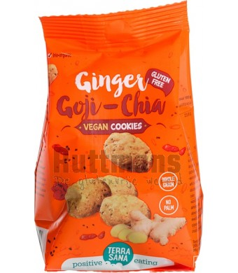 Gember-goji-chia koekjes