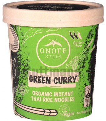 Instant Noodles soup Green Curry