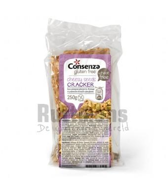 Kaas-Pompoen Crackers