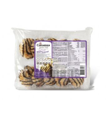 Kokosmacronen met chocolade