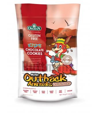 Outback dieren - Multipack mini-chocoladekoekjes