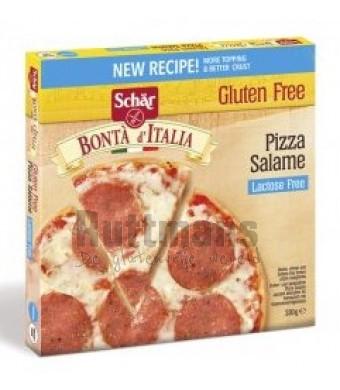 Pizza Salami Lactosevrij (diepvries)