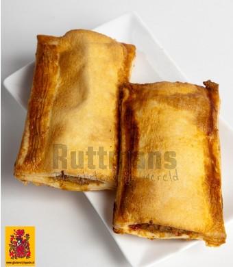 Saucijzenbroodjes, ambachtelijk (diepvries)