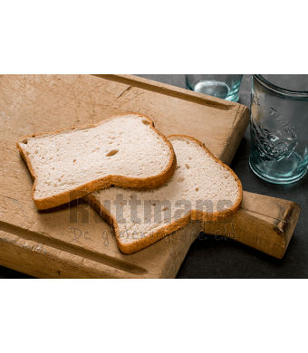 Wit Brood, gesneden 500 g (diepvries)