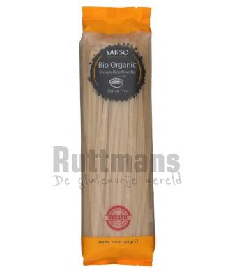 Rijstnoedels bruin