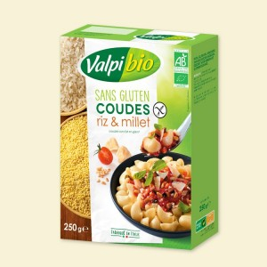 Macaroni rijst-gierst
