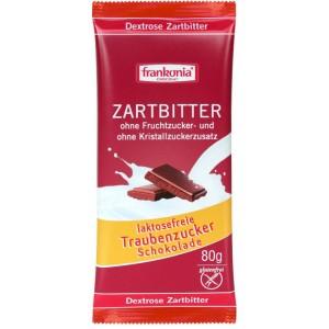 Pure chocolade, zonder fructose en zonder kristalsuiker