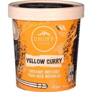Instant Noodles soup Yellow Curry