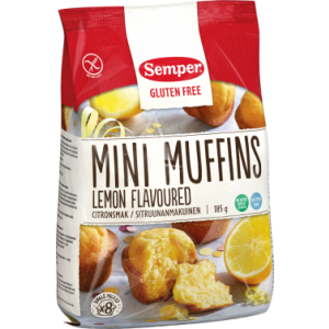 Mini Muffins met Citroensmaak