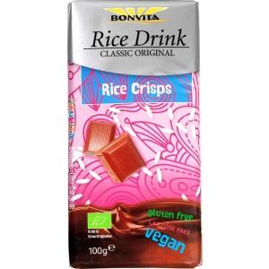 Rijstmelk Chocolade rijstcrisp