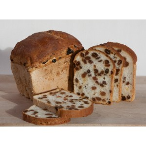 Rozijnenbrood (diepvries)