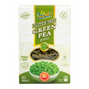 Groene erwtenpasta