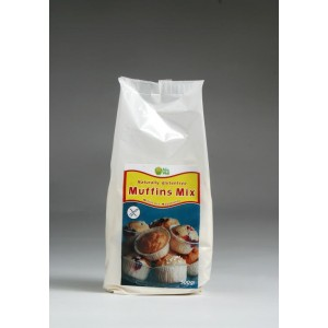 Muffinmix 301, vanille: van nature glutenvrij