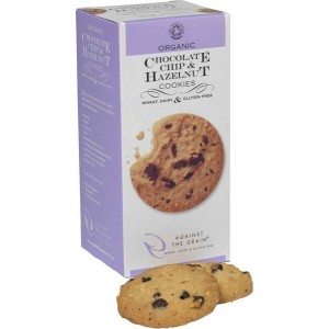 Chocolate Chip & Hazelnut Cookies