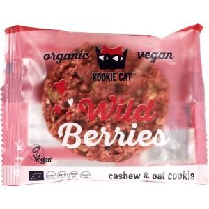 Haverkoek met cashewnoten en wild berries