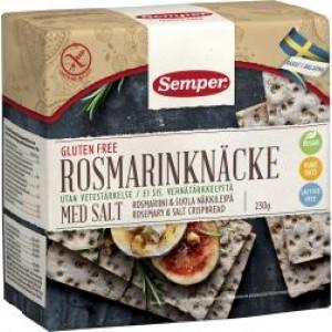 Knäckebröd - Rozemarijn & Gezouten