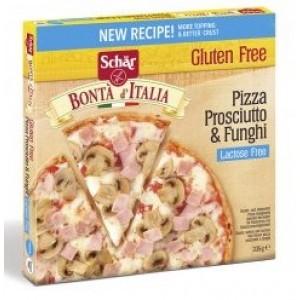 Pizza Prosciutto & Funghi Lactosevrij (diepvries)