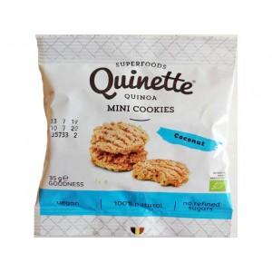 Quinoa mini-cookies – kokos