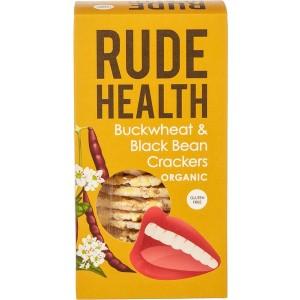 Boekweit zwarte bonen crackers