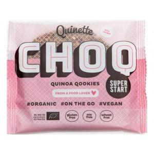 Choc quinoa qookie